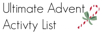 Free: The Ultimate Advent Activity List