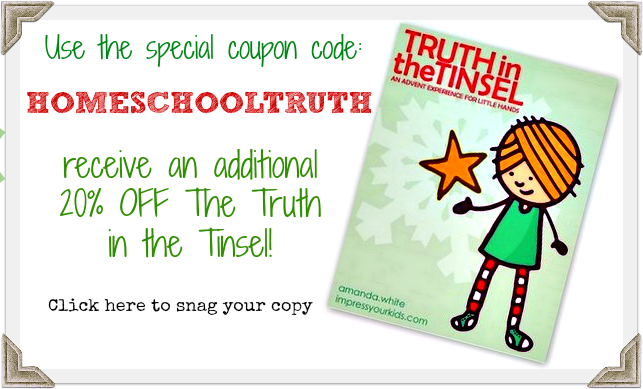 Truth in the Tinsel Discount Code 20% Off