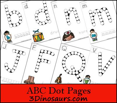 ABC Dot Marker Upper & Lower Case