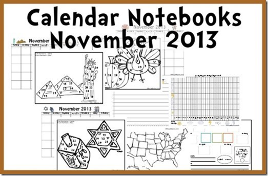 calendar notebooks