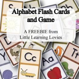 Free Alphabet Flash Cards & Game Download