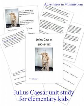 Free Julius Caesar Unit Study