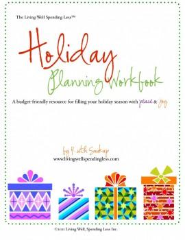 Free 2013 Holiday Planning Workbook