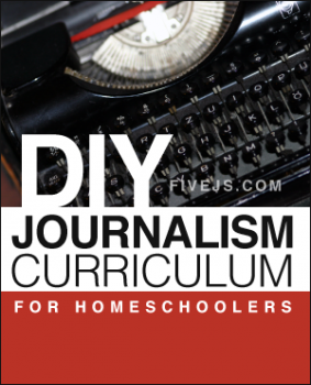 Free Homeschooling Resources: DIY Journalism Curriculum for Homeschoolers