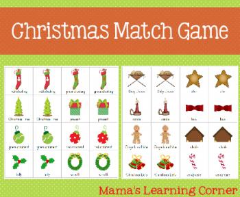 Free Christmas Match Game