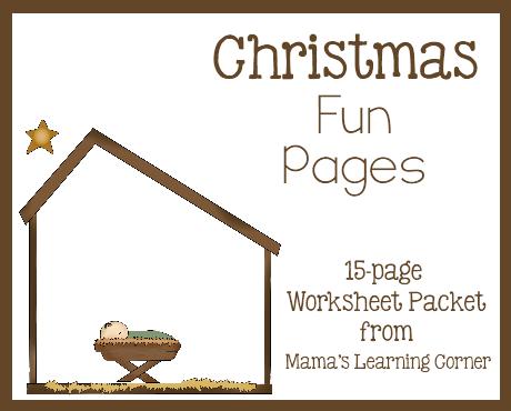 Christmas Free 15 Page Worksheet Set Free Homeschool Deals