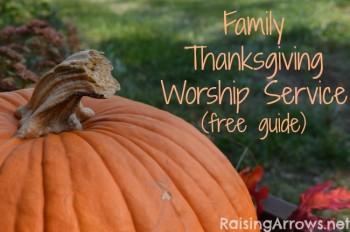 Free Family Thanksgiving Worship Service Download