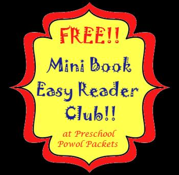 Free Mini Book Easy Reader Club