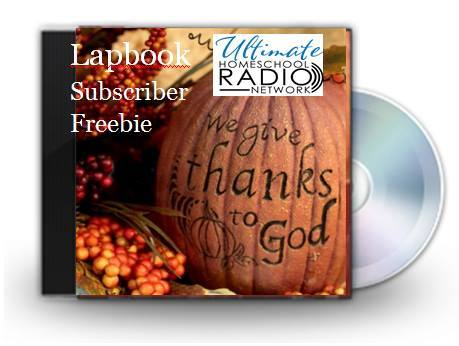 free Thanskgiving lapbook