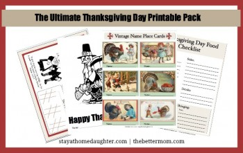 Free The Ultimate Thanksgiving Day Printable Pack