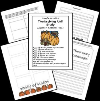 Lapbook: Free Thanksgiving Lapbook & Unit Study