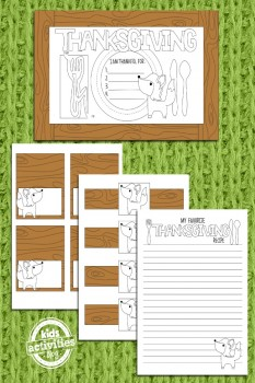 Thanksgiving Coloring Pages – Free Placemats