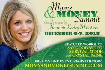 FREE Moms & Money Summit (December 6-7, 2013)