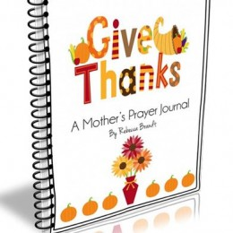 Free Give Thanks Prayer Journal and Copywork