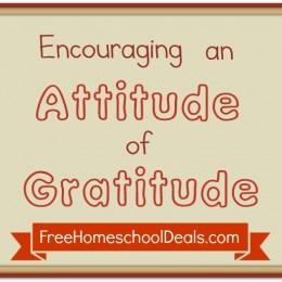 Encouraging an Attitude of Gratitude