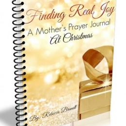 Free Prayer Journal + Copywork: Finding Real Joy at Christmas