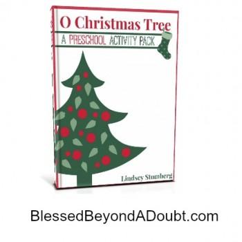 Two Free Preschool Printable Packs: O Christmas Tree + Build A Snowman Activity Pack