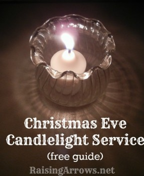 Free Family Christmas Eve Candlelight Service Download!