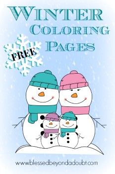 Coloring Sheets: FREE Winter Coloring Pages for All Ages!