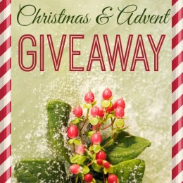 GIVEAWAY: Advent Giveaway + Free Advent Calendar Countdown!