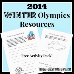 Free 2014 Winter Olympics Resources – Activity Pack