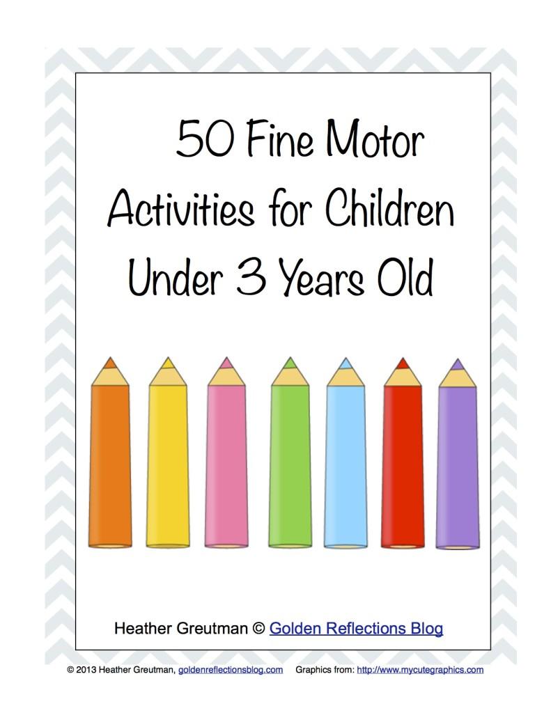 Free Homeschool Printables: 50 Fine Motor Activities for ...