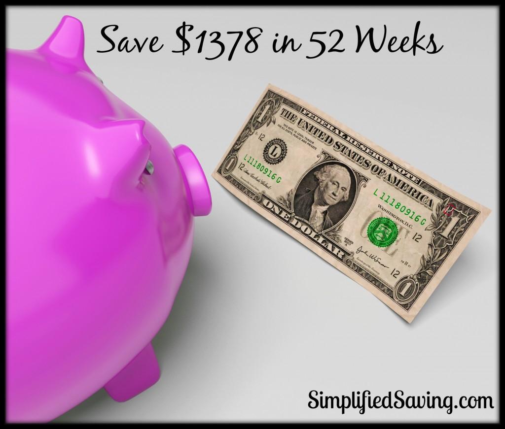 52 Week Money Challenge Printable