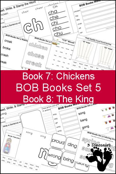 BOB Books Set 6 and 7