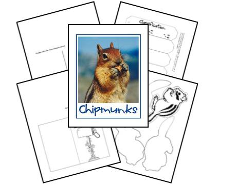 Chipmunks Lapbook