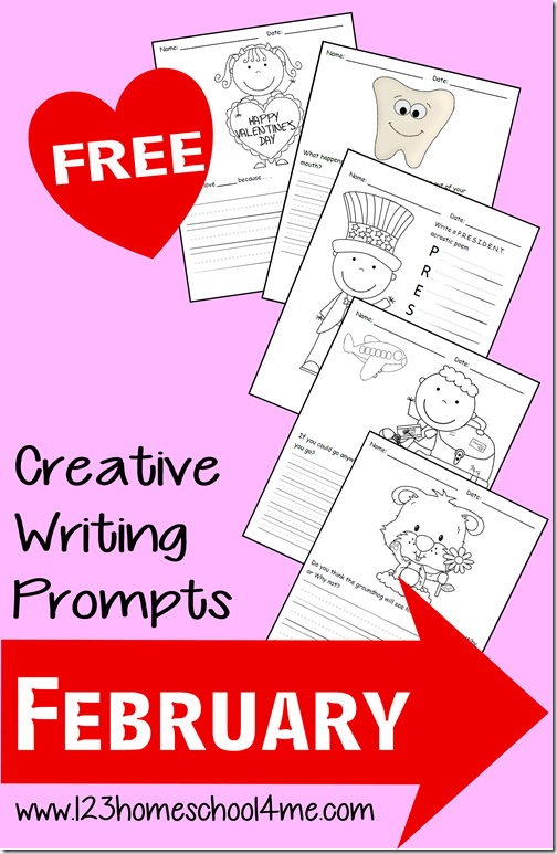 Creative Writing Prompts for February