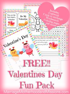 Free Valentine's Day Fun Pack
