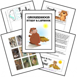 Groundhogs Lapbook
