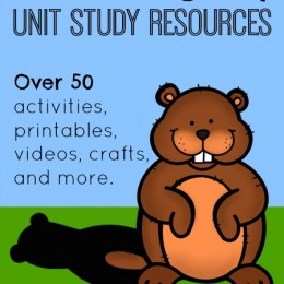 Grounghog Day Unit Study Resources