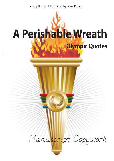 Olympics Copywork