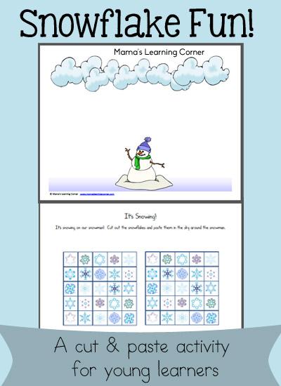 Snowflake Fun! Scissor Skills