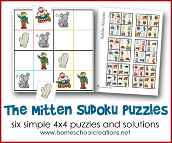 The Mitten Sudoku Puzzles