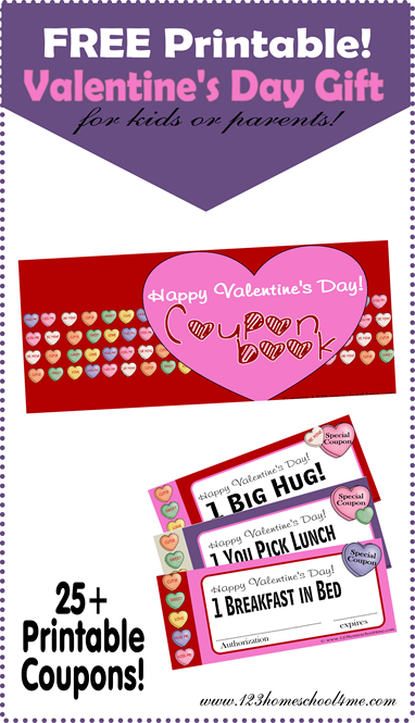 Valentines Day Free Printable Coupons