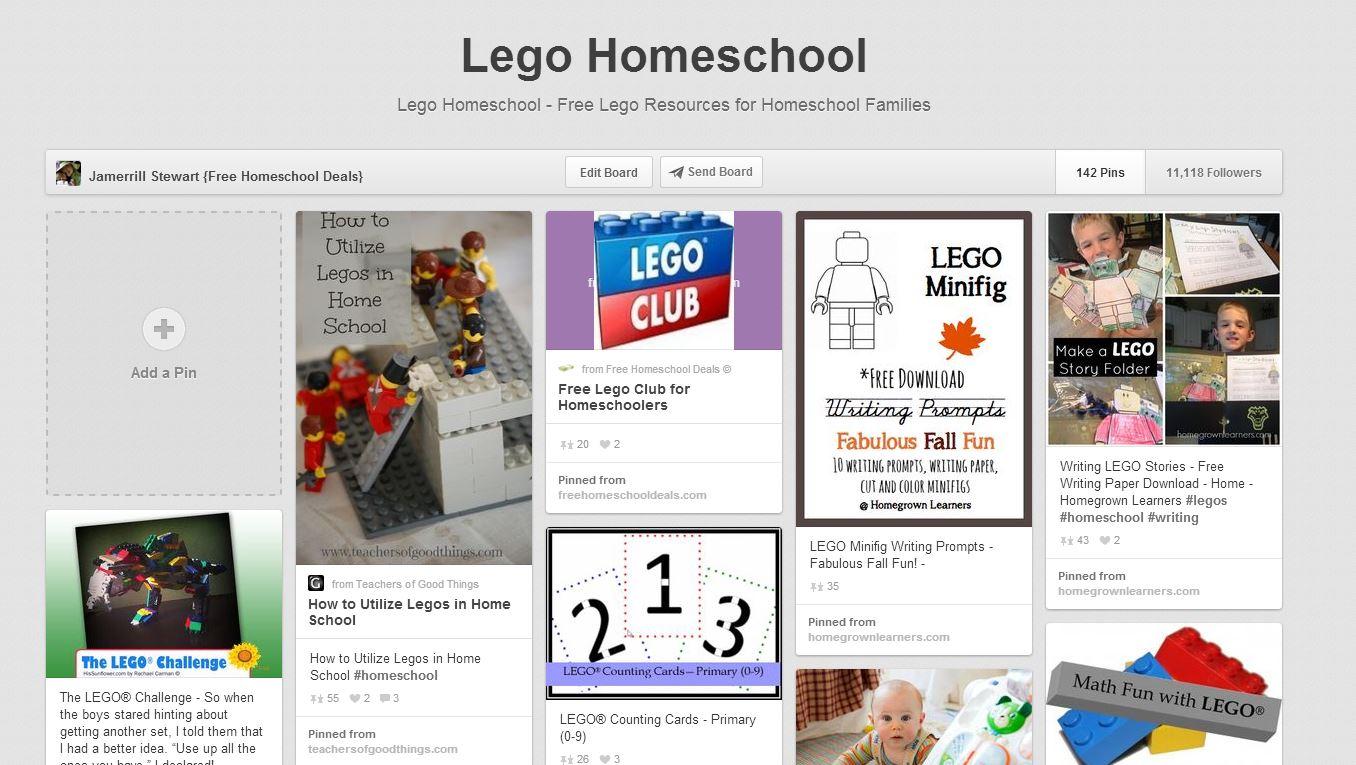 Lego Homeschool