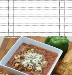 FREE Meal Planning workbook