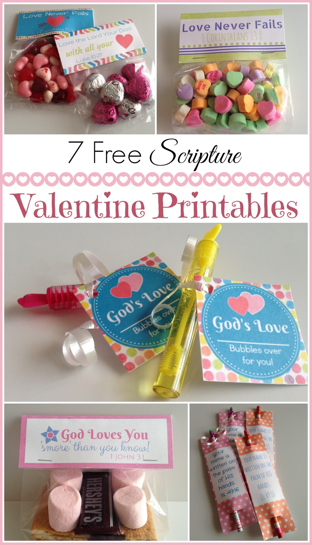 Valentine S Day 7 Free Scripture Valentine Printables