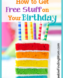 33 Family Freebies: How to Get Free Stuff on Your Birthday, Free Kitchen Cleaning Checklist for Kids, + More!