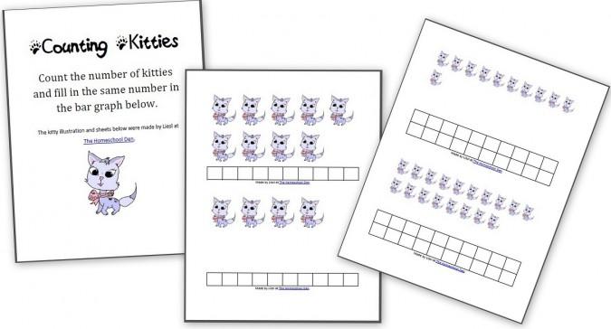 Counting Kitties for Preschoolers