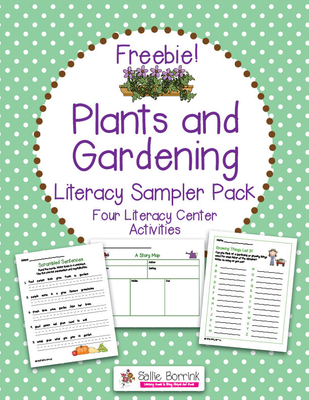 Free Plants and Garden Literacy Packet