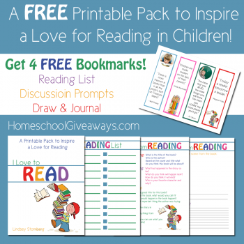 I Love to Read Printable Pack