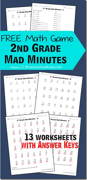 Math Mad Minutes