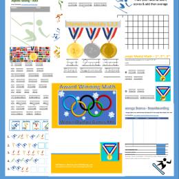 Olympic Math Printables