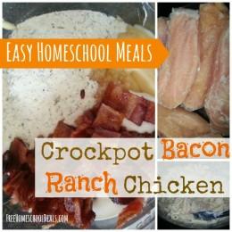 easy homeschool meals