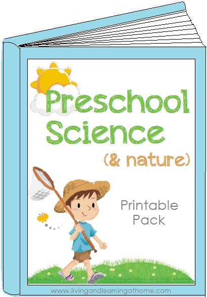 Preschool Science Printable Pack