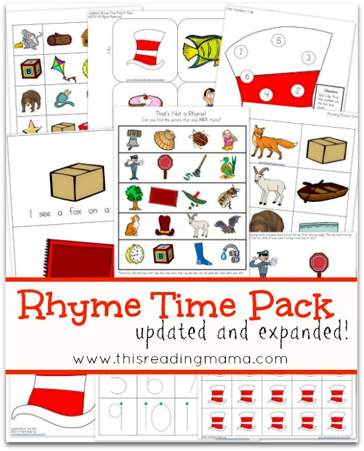 Rhyme Time Pack