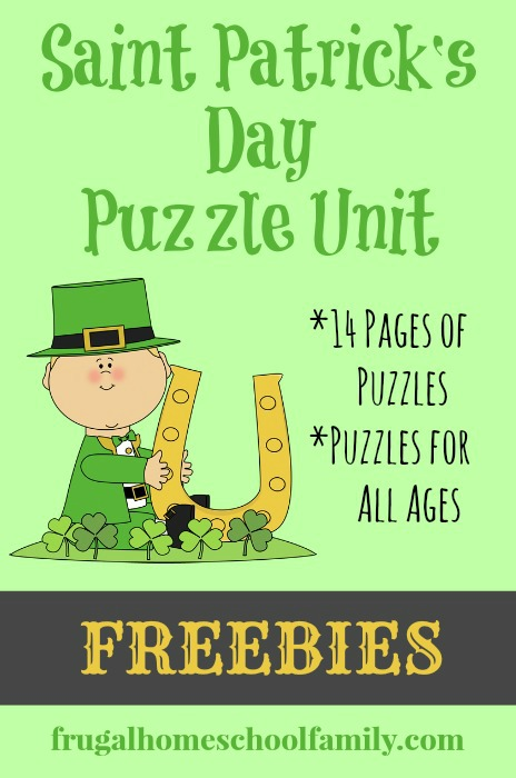 Saint Patrick's day Puzzles